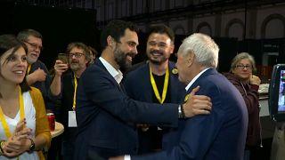 Katalonien: Unabhängigkeitspartei jubelt