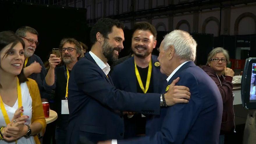 Les indépendantistes en tête en Catalogne, une première aux législatives
