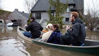 Szükségállapot az árvíz miatt Kanadában