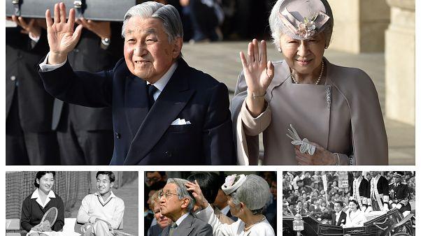 Japon İmparatoru Akihito Krizantem Taht'ı oğlu Naruhito'ya devrediyor