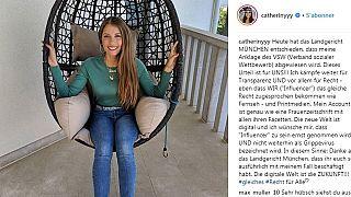 Influencer und Werbung: Cathy Hummels gewinnt Prozess