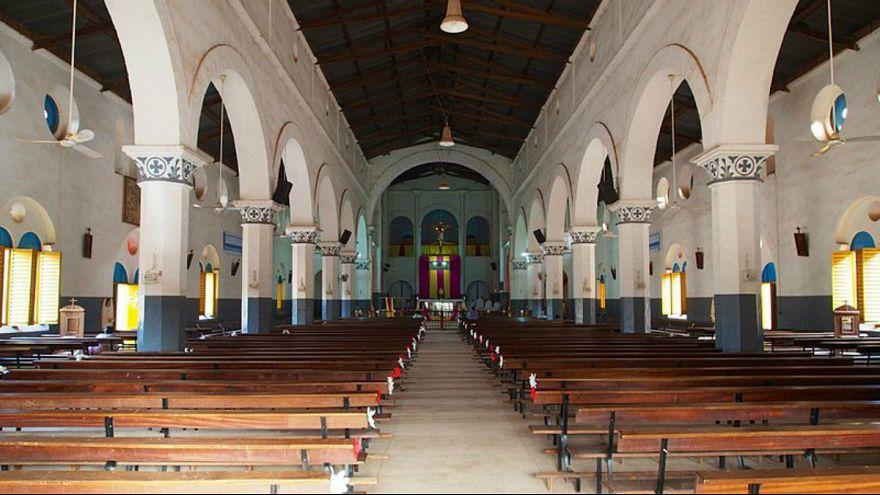 یکی از کلیساهای واگادوگو، پایتخت بورکینافاسو