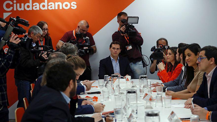 Ciudadanos rechaza cualquier negociación con Pedro Sánchez