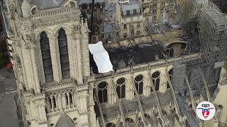 Notre Dame: Young trade trainees hope to help restore scorched roof