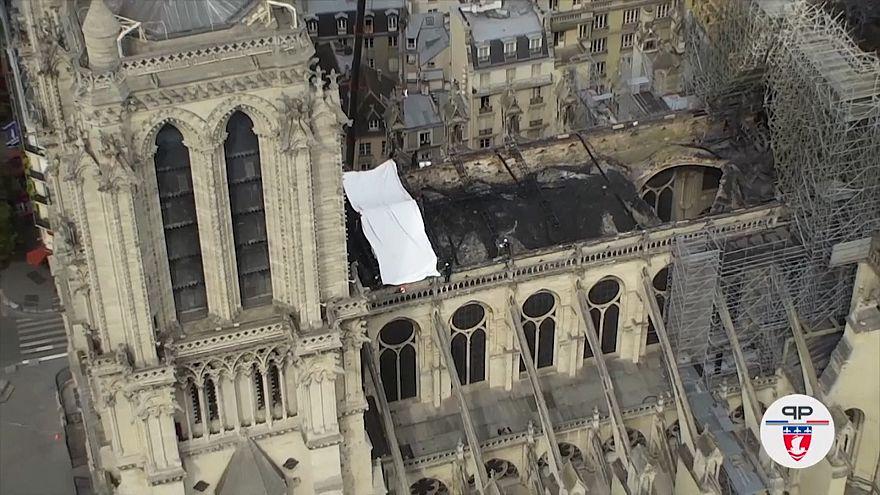 درخواست کارشناسان از ماکرون: نوتردام سر فرصت بازسازی شود