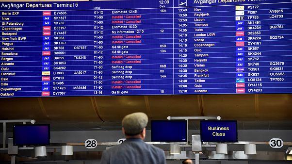 Scandinavian Airlines non vola: sciopero dei piloti