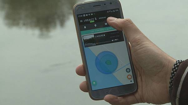 I-React: l'app che affronta i disastri con lo smartphone