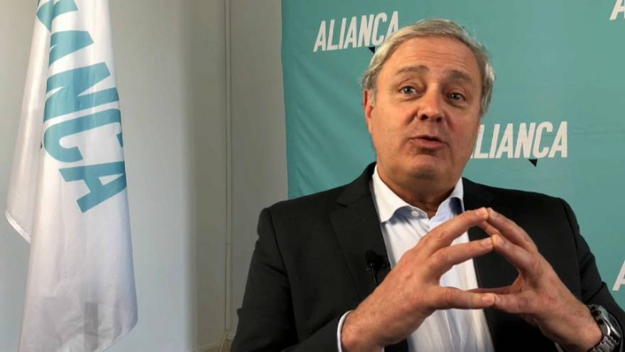 Só a solidariedade salvará a Europa, diz Paulo Sande (Aliança)