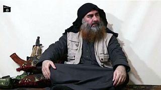 Video: IŞİD lideri el Bağdadi'nin görüntüleri 5 yıl sonra ilk kez ortaya çıktı