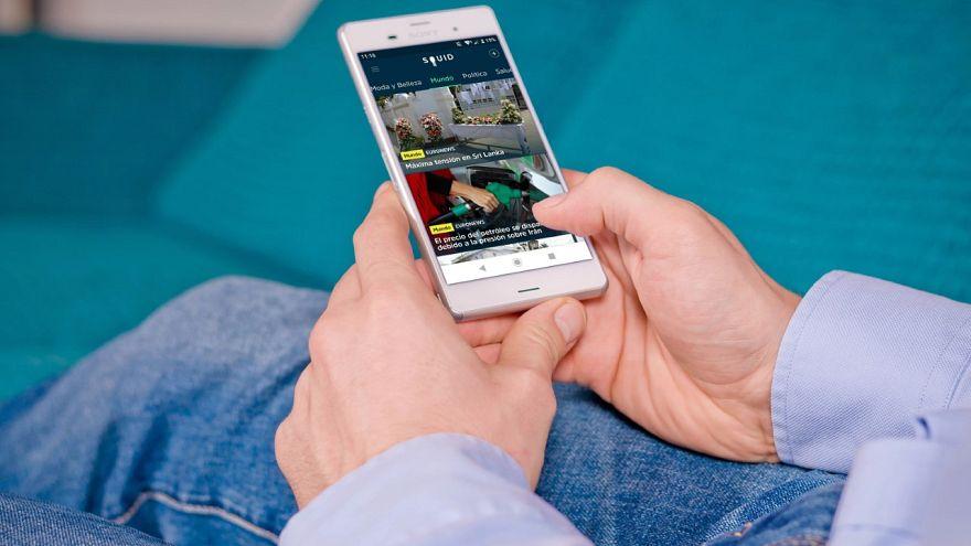 Euronews está disponible en Squid, la app de noticias personalizadas