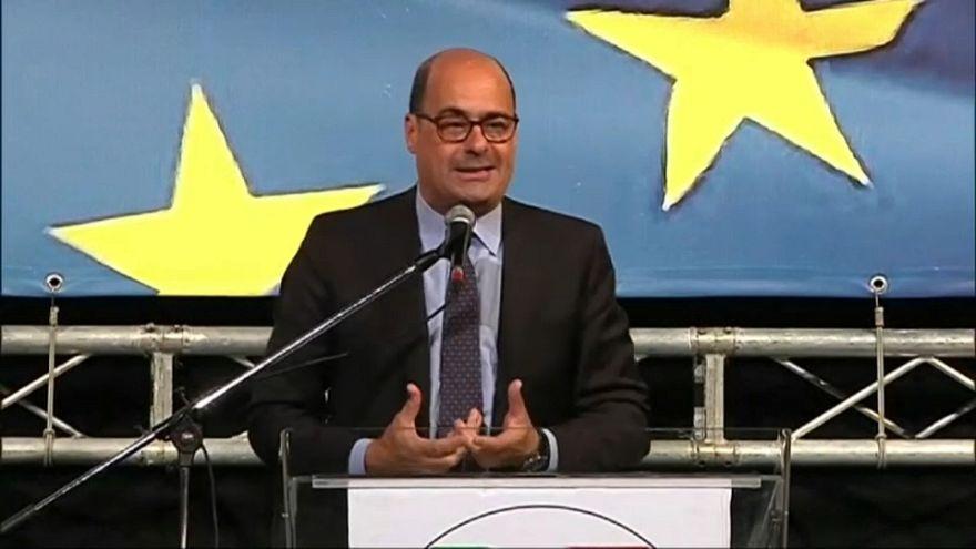 """Pd, Zingaretti apre campagna elettorale: """"Voltiamo pagina"""""""