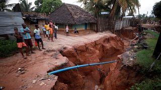 Decenas de muertos por el ciclón Kenneth en Mozambique