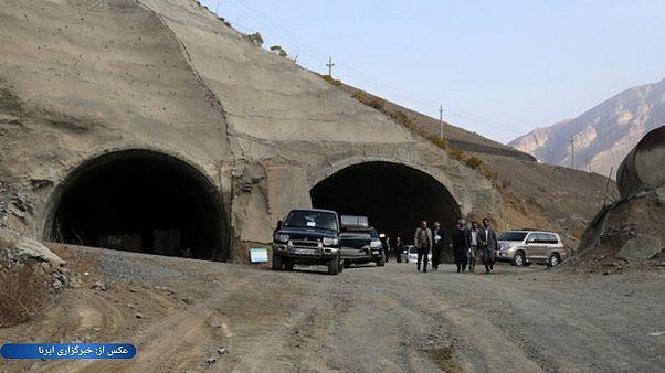 حادثه در تونل تهران-شمال؛ کارگران گرفتار شدند