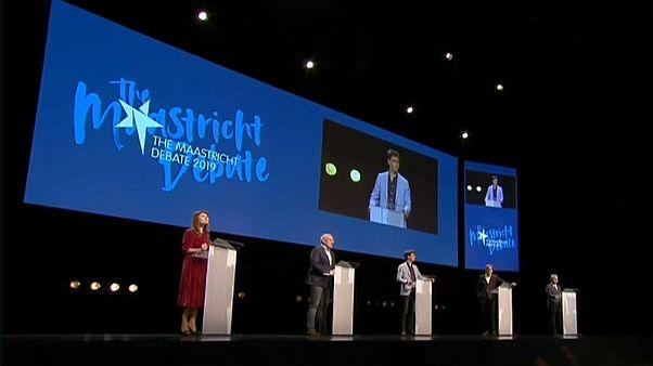 Fünf Spitzenkandidaten debattieren zur Wahl: Europa zum Anfassen