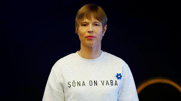"""""""Worte sind frei"""" - Estlands Präsidentin zur neuen Regierung"""