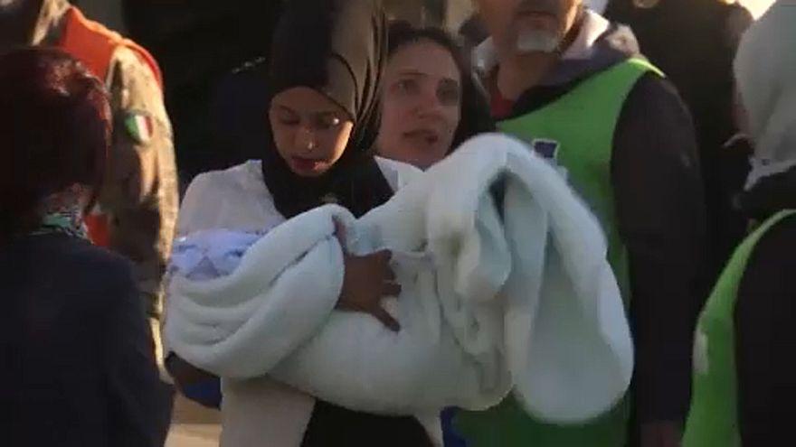 Menekülteket fogadott be Olaszország