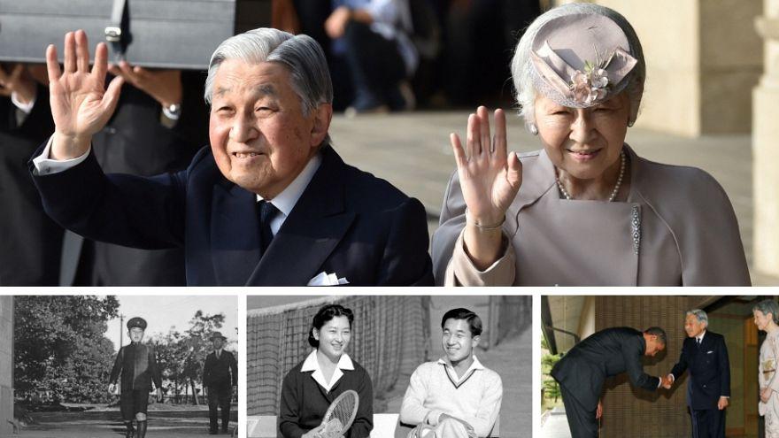 آلبوم عکس؛ پایان سه دهه امپراتوری آکیهیتو بر ژاپن