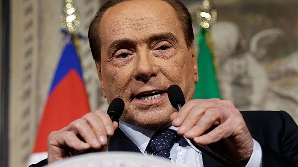 رئيس الوزراء الإيطالي السابق برلسكوني يدخل المستشفى بسبب عارض صحي