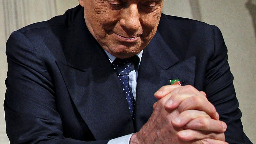 Italy's Berlusconi misses EU election campaign event after being hospitalised