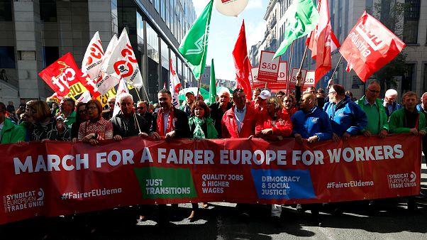 Défendre les travailleurs européens