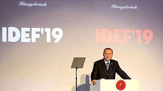 Erdoğan: Türkiye'nin dışlandığı bir F-35 projesi tamamen çökmeye mahkumdur
