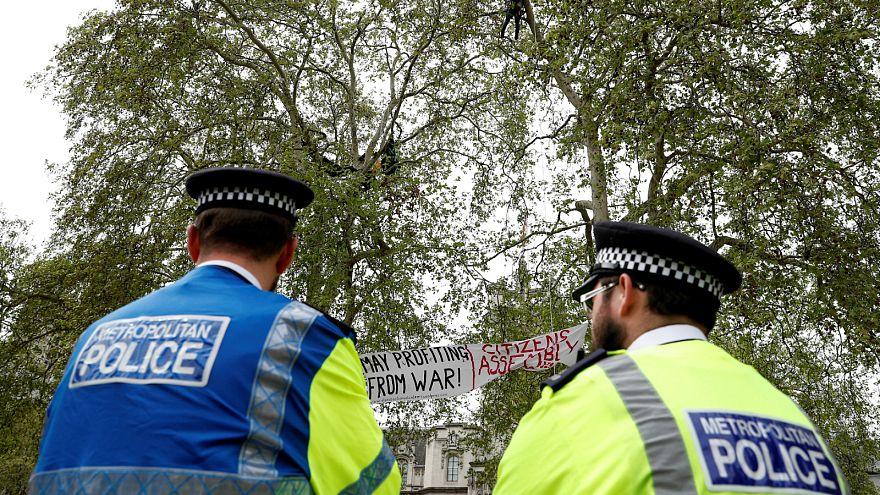 أفراد الشرطة البريطانية في لندن