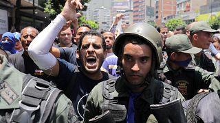Βενεζουέλα: Συγκρούσεις και τραυματίες