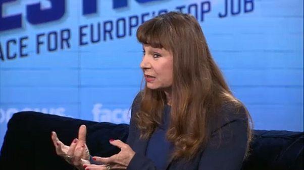 Bemutatkozik az Egyesült Európai Baloldal listavezetője, Violeta Tomic