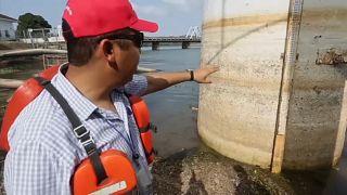 Panamakanal: Niedrigstand wegen El Niño