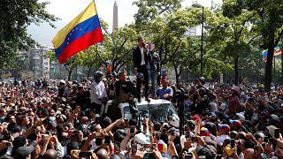 Az USA ismét kiállt Guaidó mellett