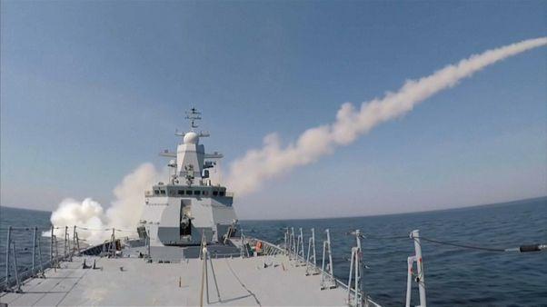 شاهد: تدريبات عسكرية روسية بالصواريخ المضادة للسفن في بحر البلطيق