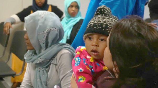 146 لاجئا ليبيا هربوا من النزاع المسلح في طرابلس وصلوا إيطاليا
