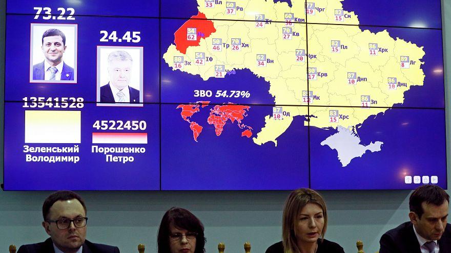 زيلنسكي رسميا رئيسا لأوكرانيا