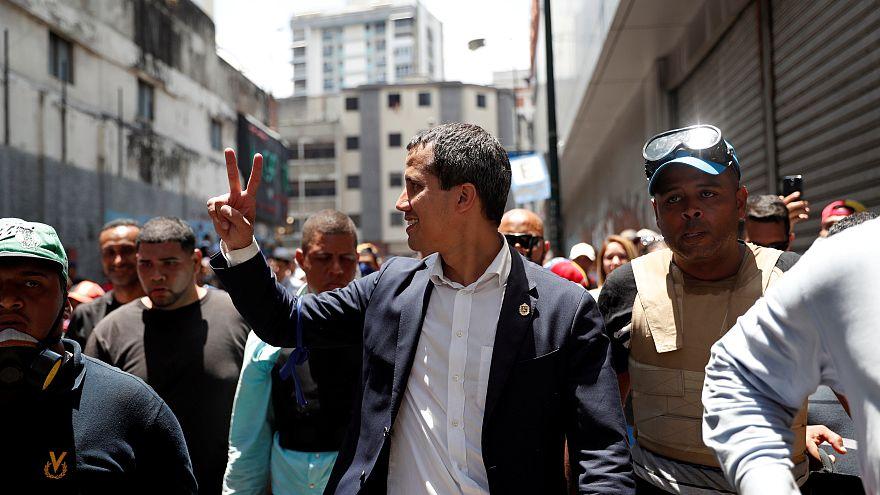 """Guaidó: """"Hoy Maduro no cuenta con las Fuerzas Armadas"""""""