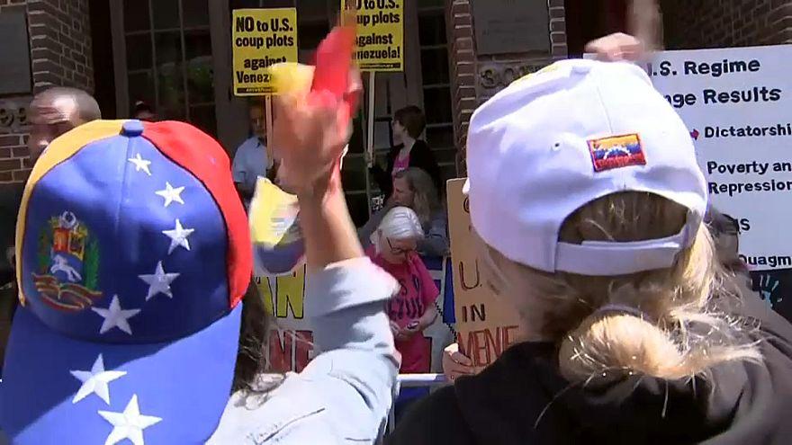Trump e Bolsonaro transmitem apoio a Guaidó