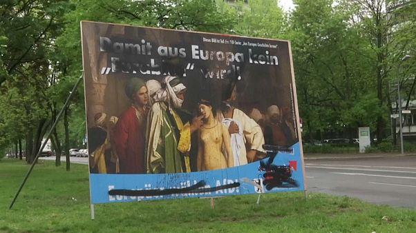 Outdoor da extrema-direita alemã para as europeias gera polémica