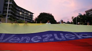 """Guaidó apela a uma """"revolução pacífica"""""""