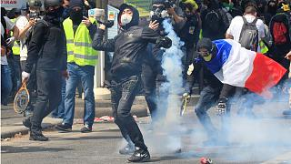 May Day protests turn violent in Paris