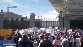 دهها تن در تجمع روز جهانی کارگر مقابل مجلس ایران بازداشت شدند