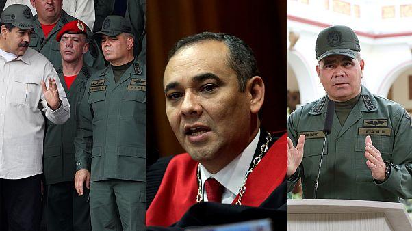 """Estos son los hombres que """"podrían derrocar"""" a Nicolás Maduro"""