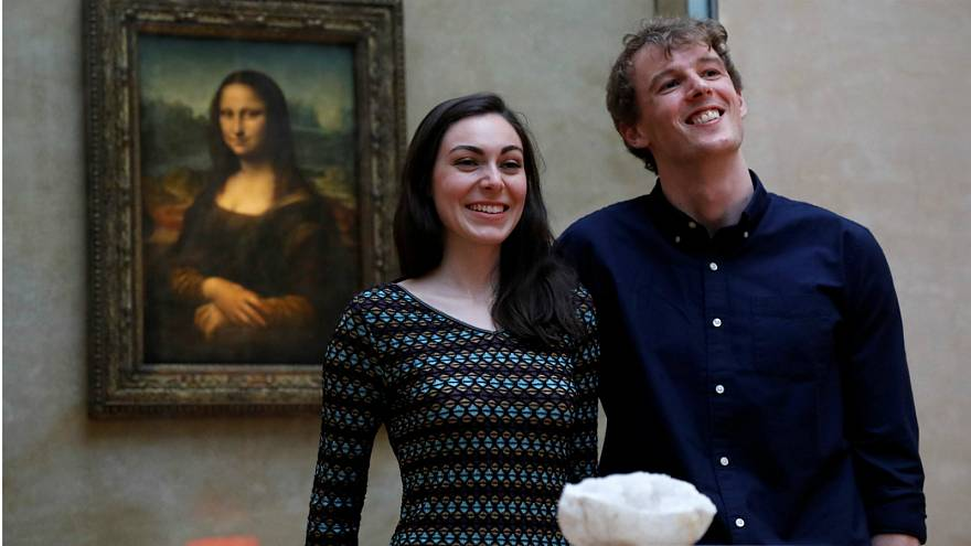 Couple win Airbnb competition for first overnight stay in the Louvre museum