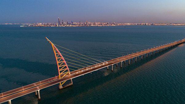 کویت یکی از طویل ترین پل های دریایی جهان را افتتاح کرد