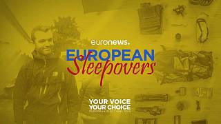 European sleepovers: Euronews feels Europe's pulse ahead of May's elections