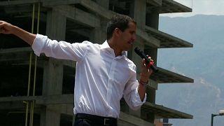 Guaidó convoca huelga general en Venezuela