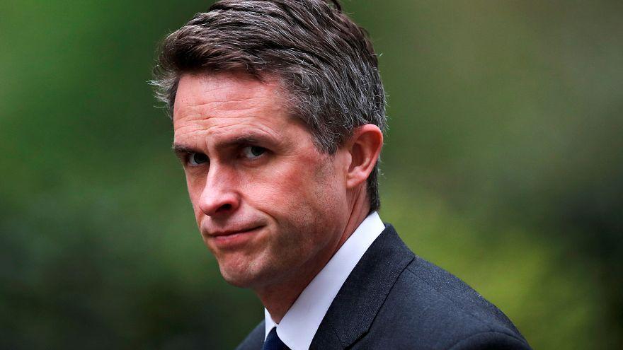 وزير الدفاع البريطاني
