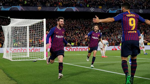 Barcelona 3 Liverpool 0 en la Liga de Campeones