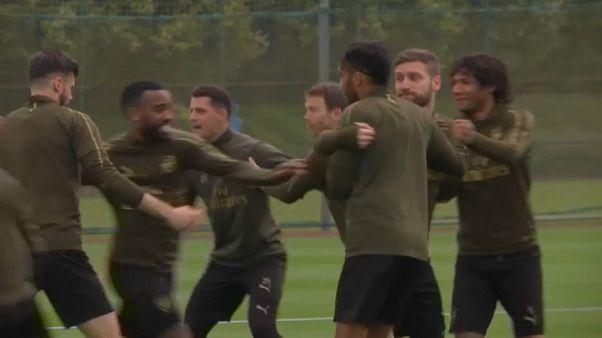 El Arsenal desafía al Valencia en las semifinales de la Liga Europa