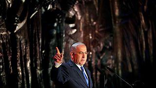 بنیامین نتانیاهو در مراسم بزرگداشت قربانیان هولوکاست