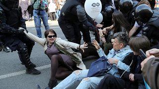 Россия: Первомай арестов
