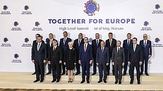 جشن  پانزده سالگی بزرگترین گسترش اتحادیه اروپا در شرق و مرکز این قاره